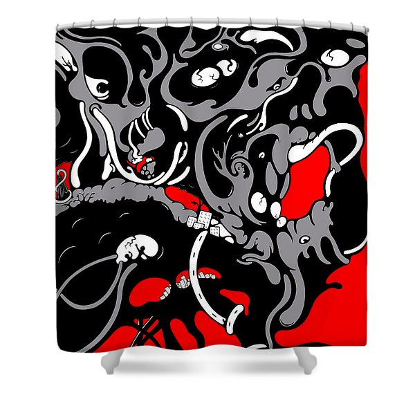 Diversion Shower Curtain