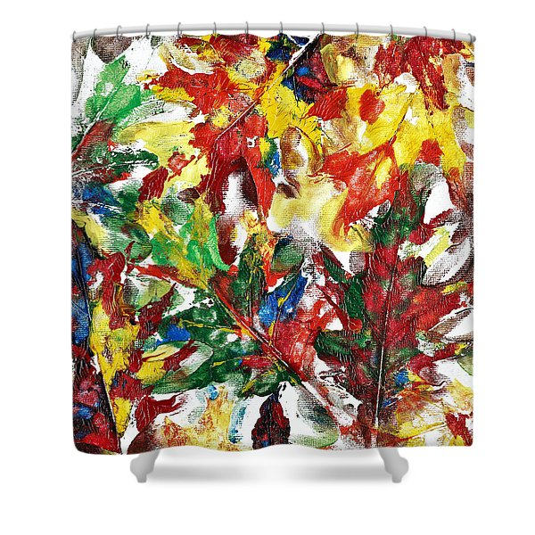 Diversity Of Colors Shower Curtain