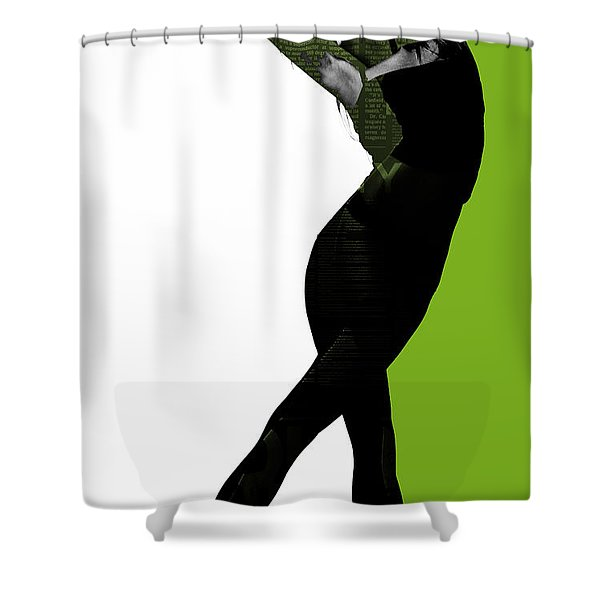 Divided Shower Curtain