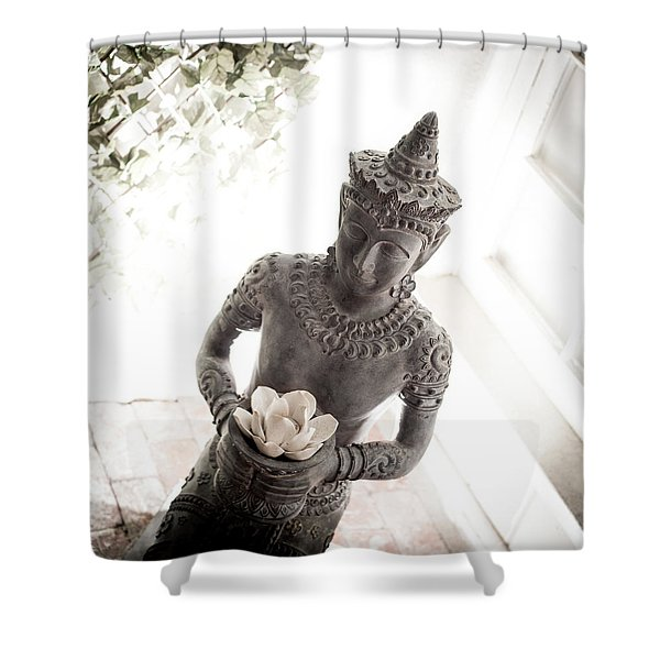 Divine Back Light Shower Curtain