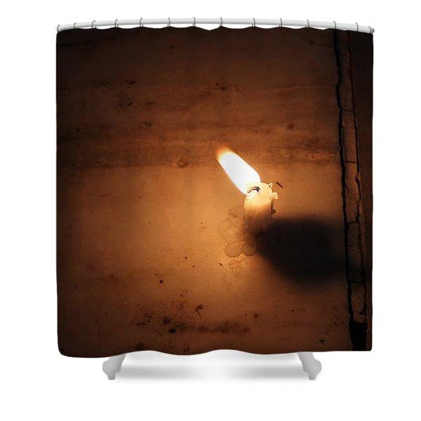 Diwali Candle, Vrindavan Shower Curtain