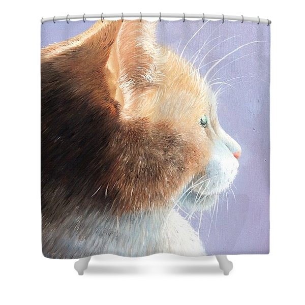 Dizzy Shower Curtain