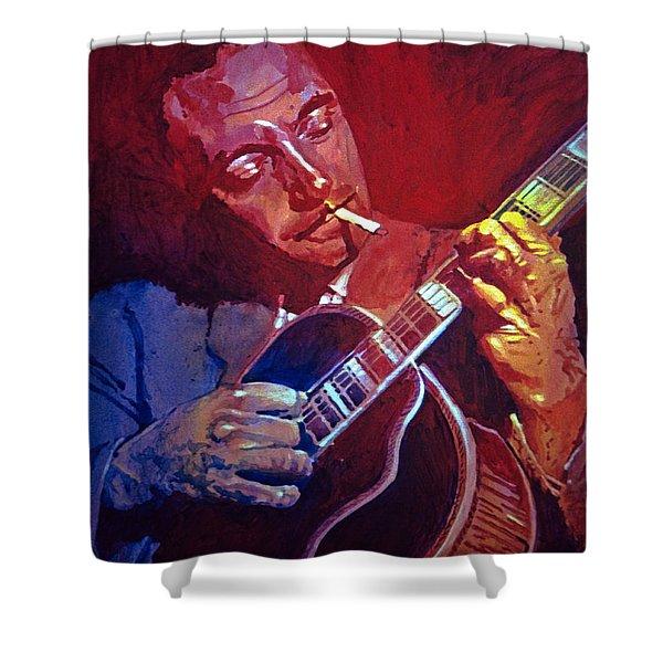 Django Sweet Lowdown Shower Curtain