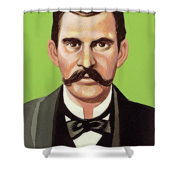Doc Holliday Shower Curtain