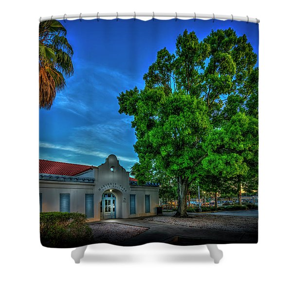 Dock Master Shower Curtain