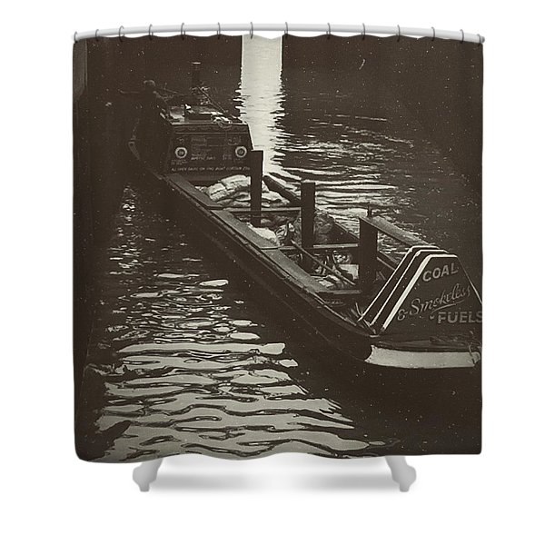 Dockland Daytime  Shower Curtain
