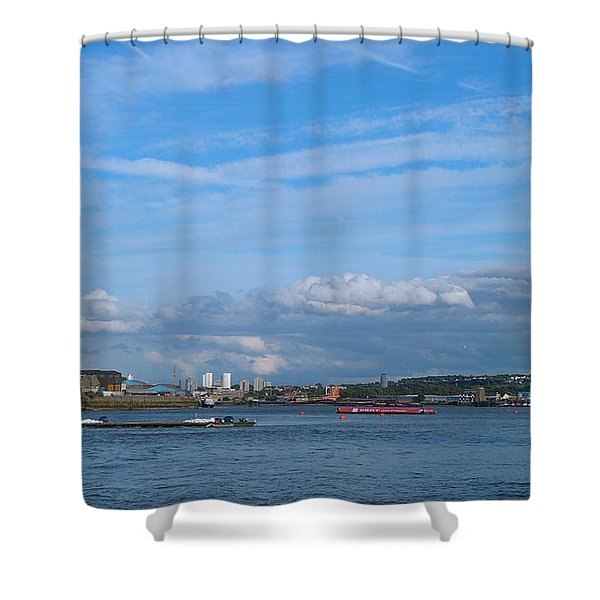 Docklands And Skyline Shower Curtain