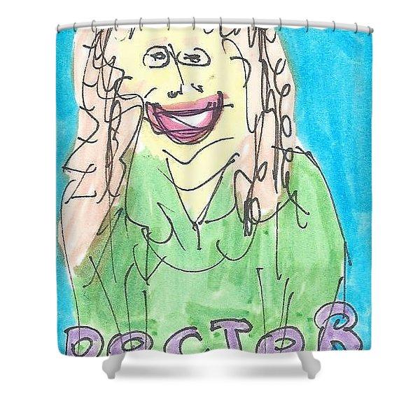 Doctor Kolisch Shower Curtain