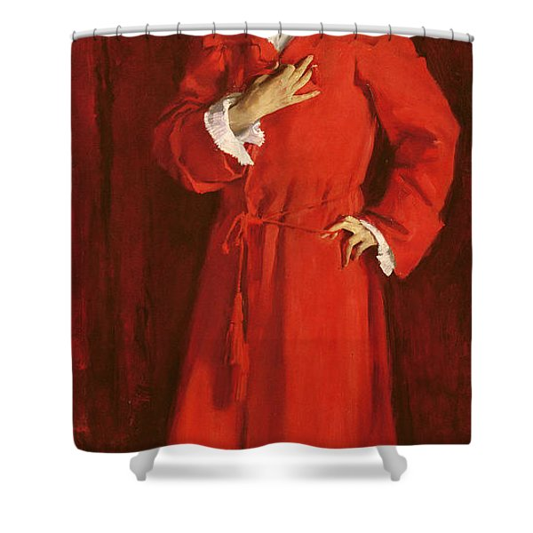 Doctor Pozzi At Home, 1881 Shower Curtain