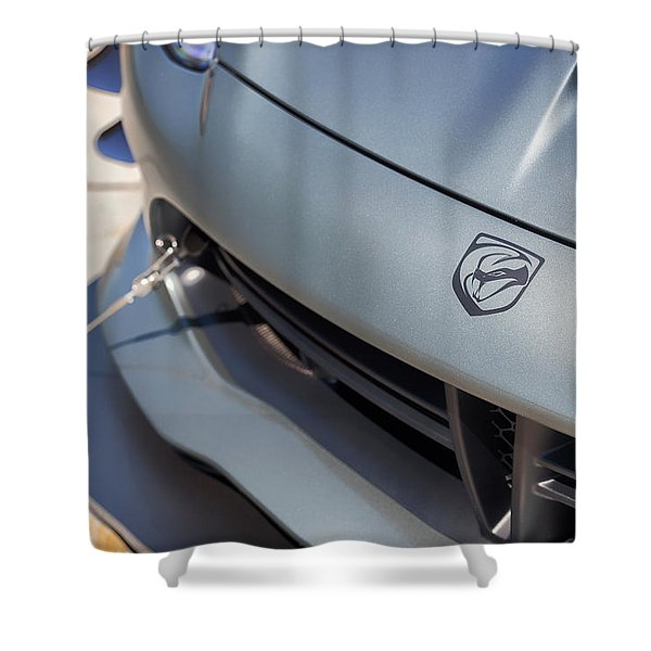#dodge #acr #viper #print Shower Curtain
