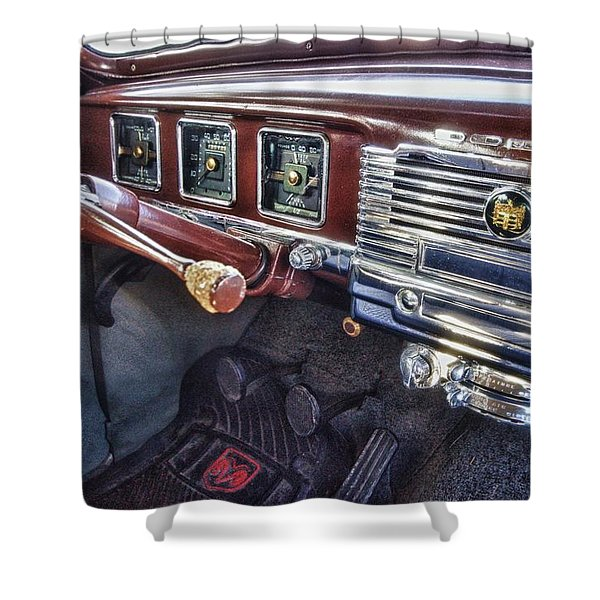 Dodge Dash Shower Curtain