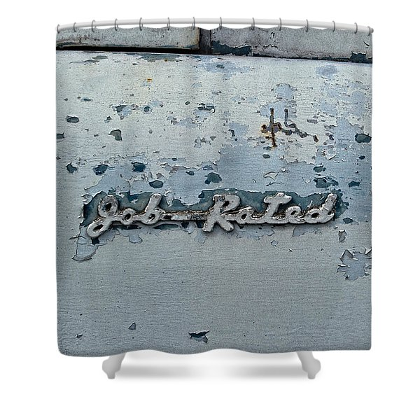 Dodge Pickup - Job Rated Shower Curtain
