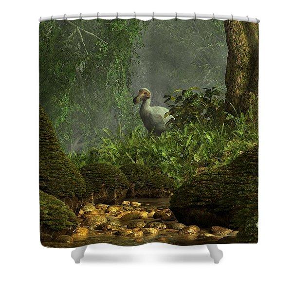 Dodo Creek Shower Curtain