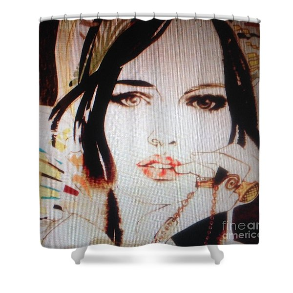 Does She Love Me C2018 Shower Curtain