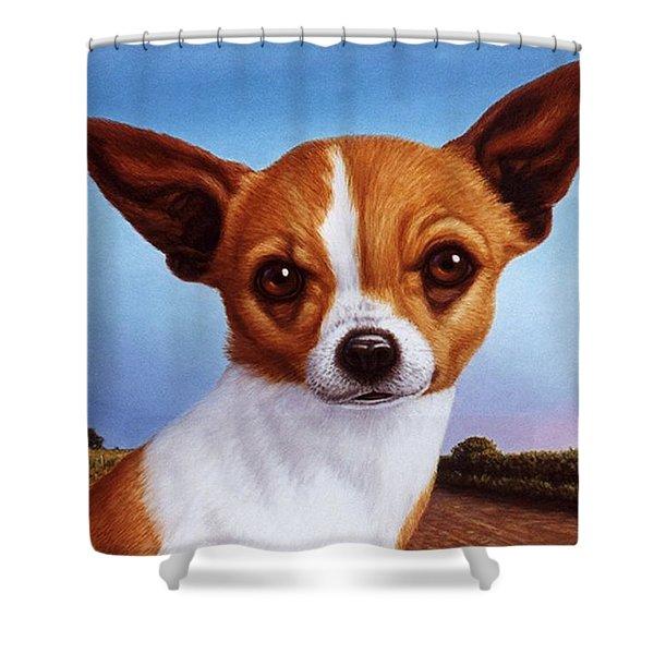 Dog-nature 3 Shower Curtain
