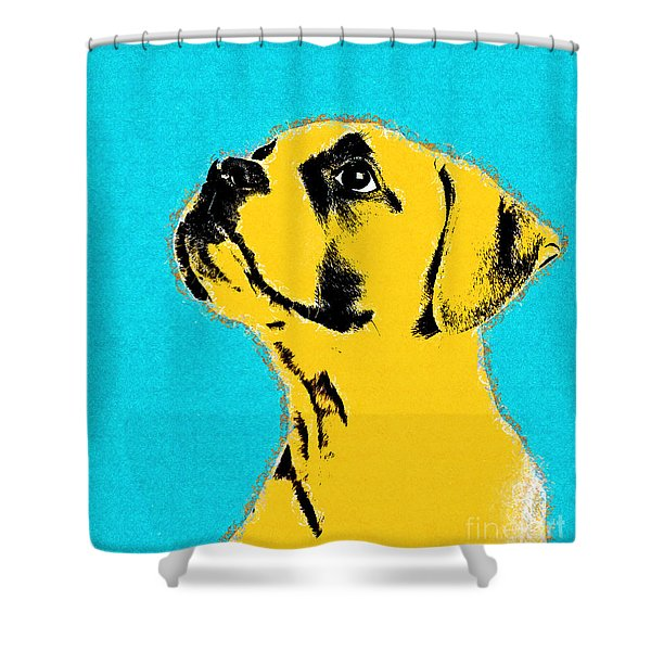 Dog Thing - 01c15a9 Shower Curtain