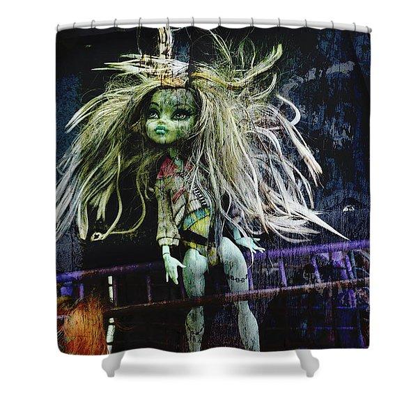Doll X Shower Curtain