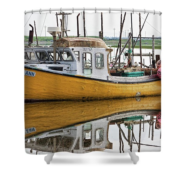 Dolores Ann The Old Fair Lady Shower Curtain