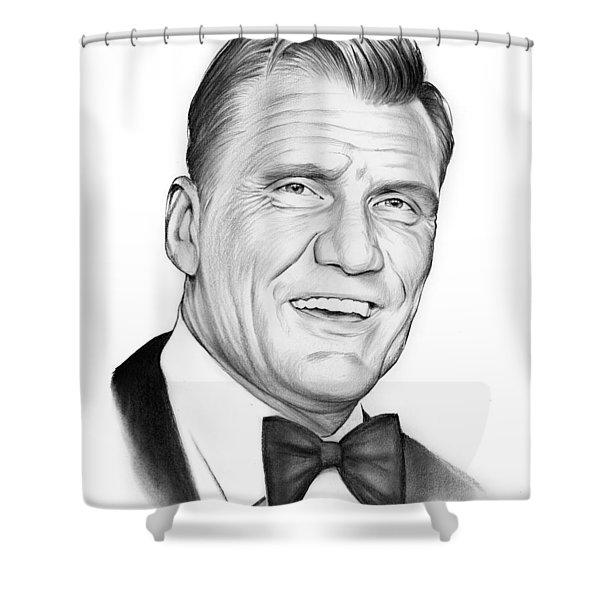 Dolph Lundgren Shower Curtain