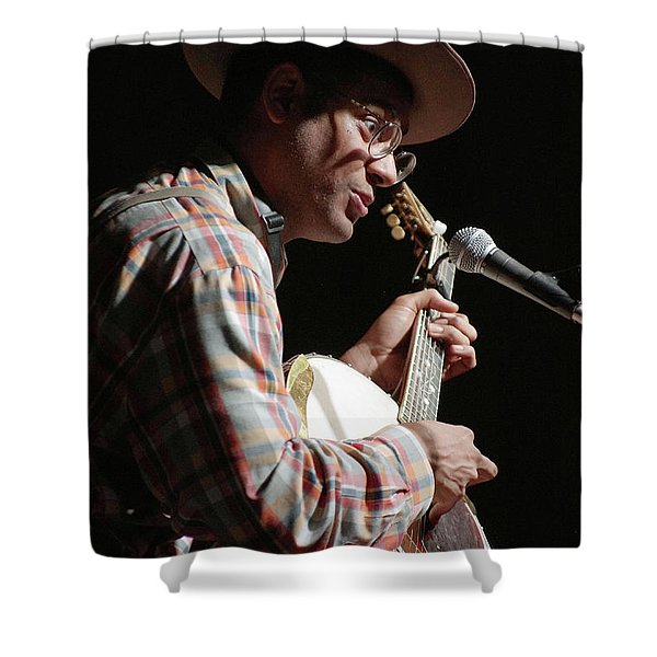 Dom Flemons Shower Curtain