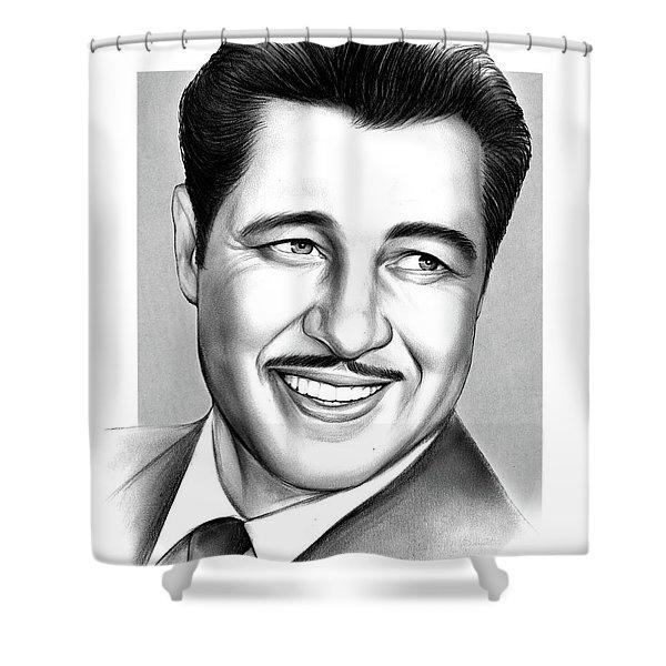 Don Ameche Shower Curtain