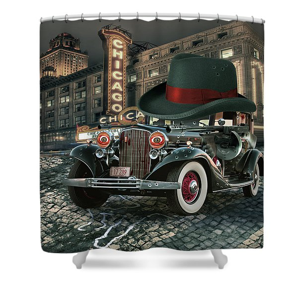 Don Cadillacchio Shower Curtain