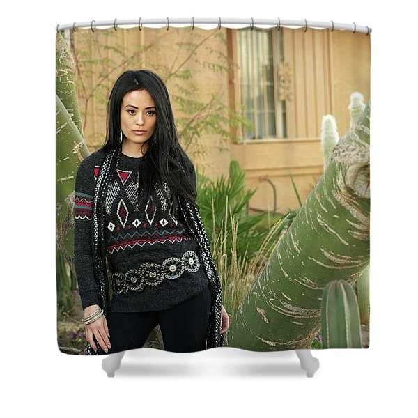 Don't Be Mean To Ileen Shower Curtain