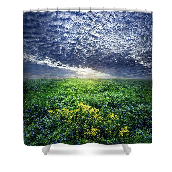 Don't Live Too Fast Shower Curtain