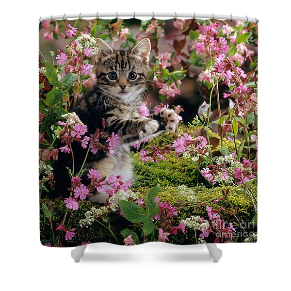 Don't Pick The Flowers Shower Curtain