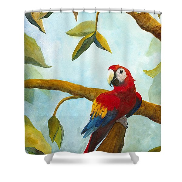 Dont Worry Be Happy Shower Curtain