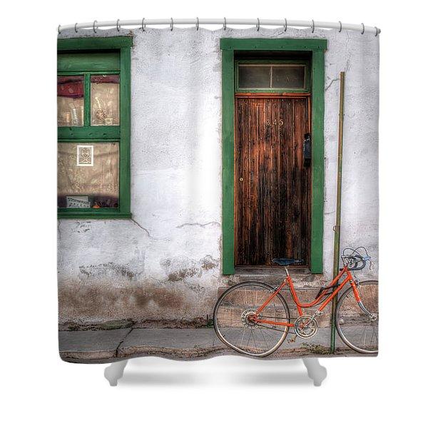 Door 345 Shower Curtain