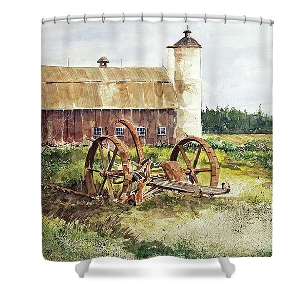 Door County Shower Curtain