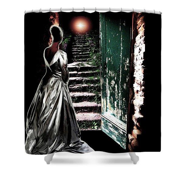 Door Of Opportunity Shower Curtain