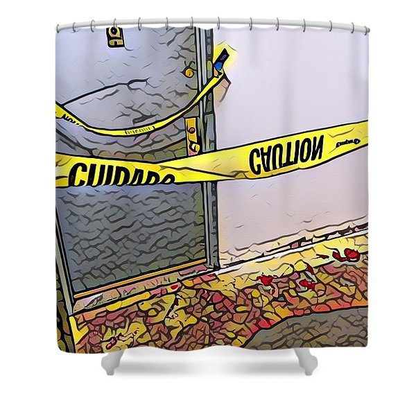 Door Of Perception Shower Curtain