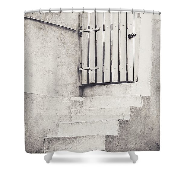 Door To Nowhere. Shower Curtain