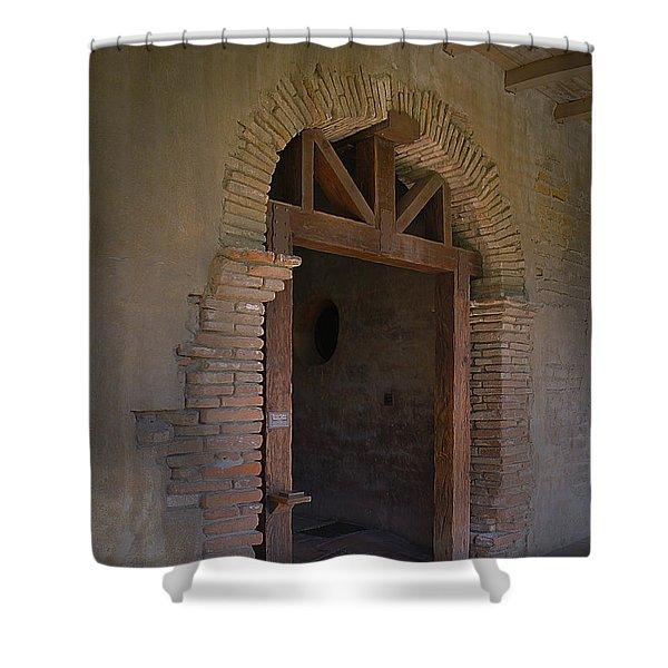 Door Way Shower Curtain