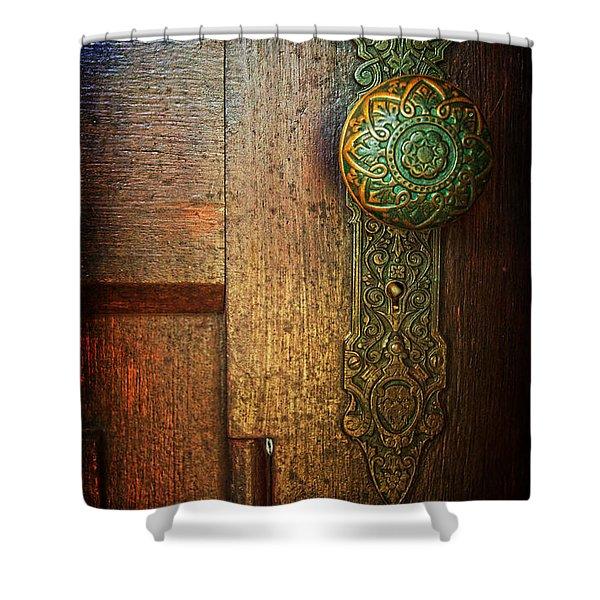 Doorknob Shower Curtain