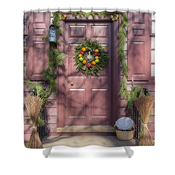 Doors Of Williamsburg 72 Shower Curtain