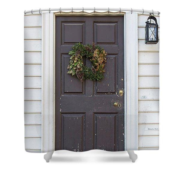 Doors Of Williamsburg 86 Shower Curtain