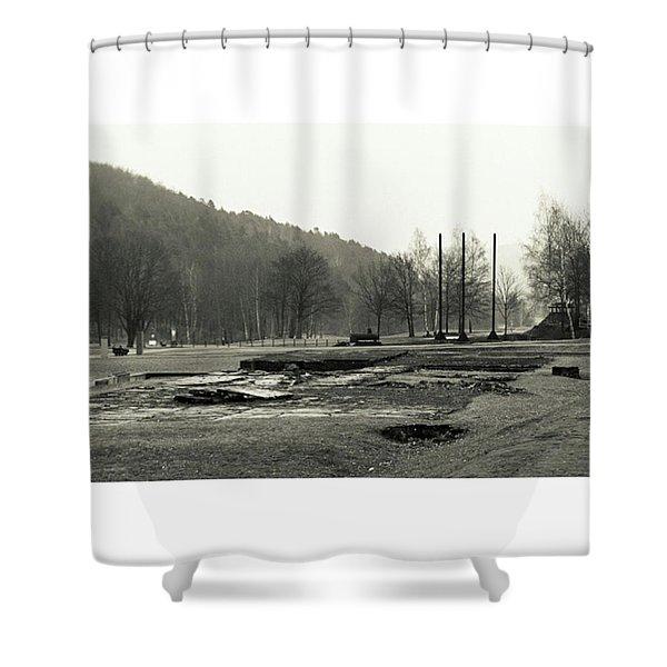 Dora  #monochrome  #canon #nordhausen Shower Curtain