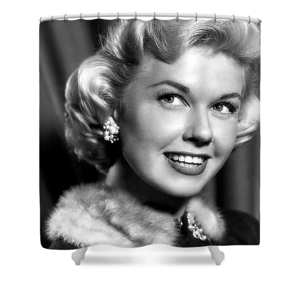 Doris Day By The Light Of The Silvery Moon 1953 Shower Curtain
