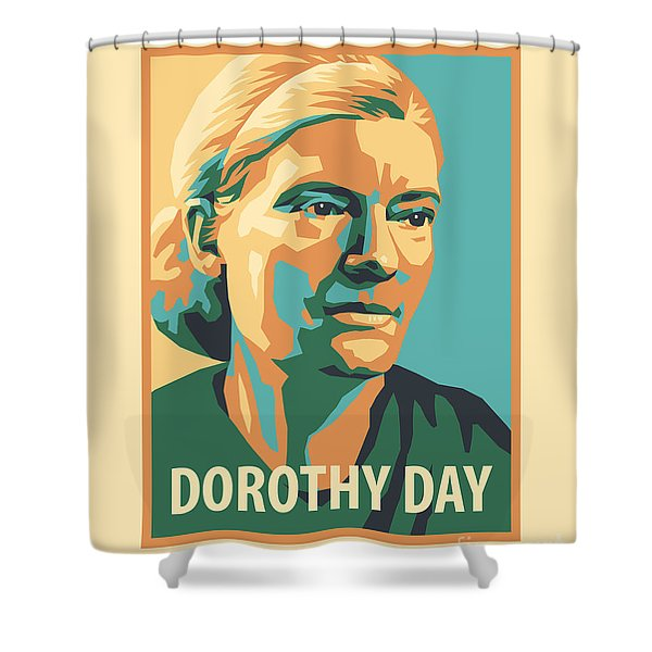 Dorothy Day, 1938 - Jldyd Shower Curtain