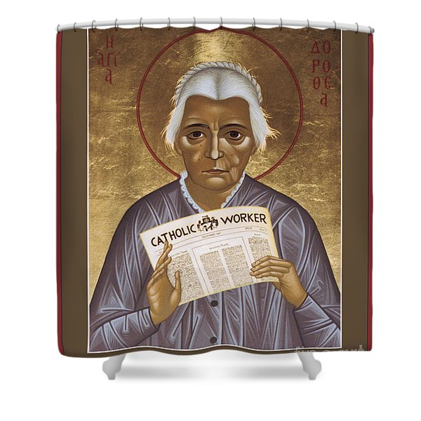 Dorothy Day Of New York - Rldrd Shower Curtain