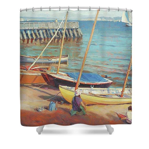 Dory Beach Shower Curtain