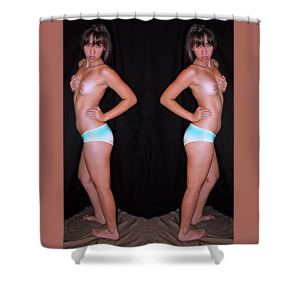 Double Half Cover Quarter Show 2010 Shower Curtain