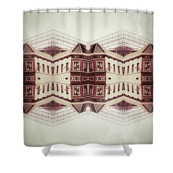 Double Side Shower Curtain
