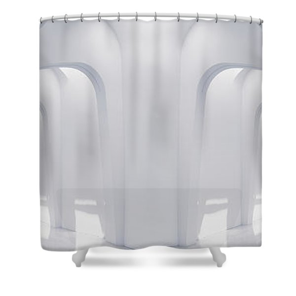 Doubled Arches Shower Curtain