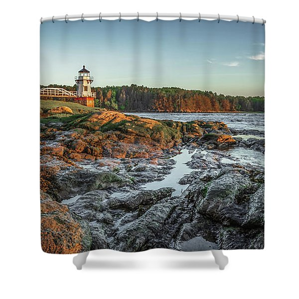 Doubling At Dusk Shower Curtain