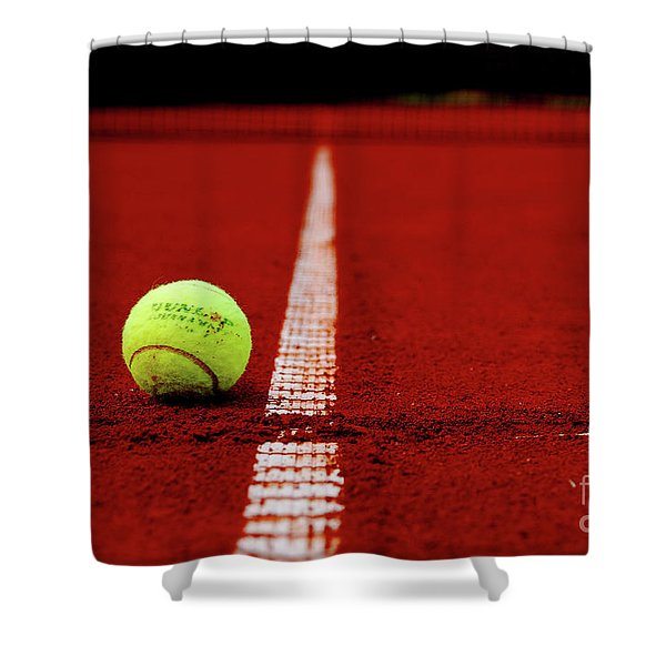 Down And Out Shower Curtain