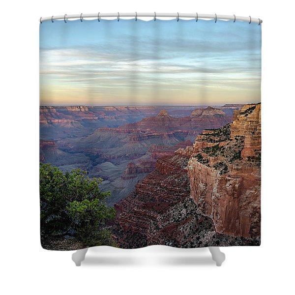 Down Canyon Shower Curtain